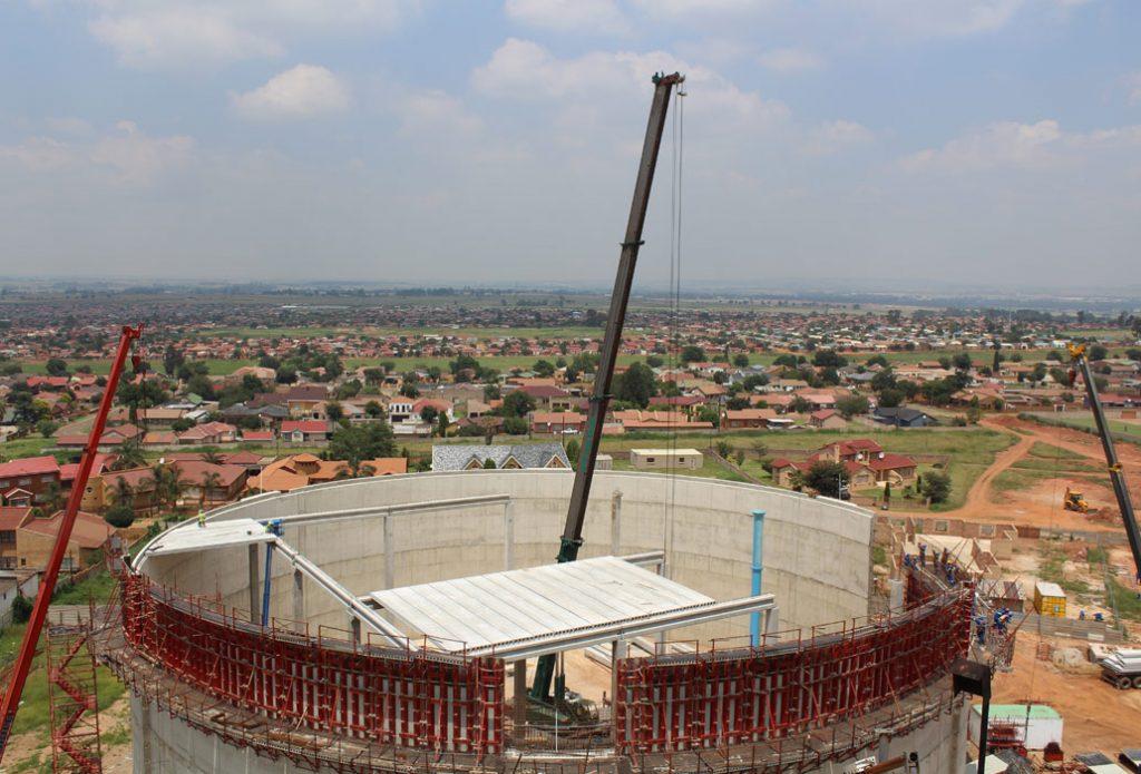 pre cast system saves six months on reservoir build corestruc