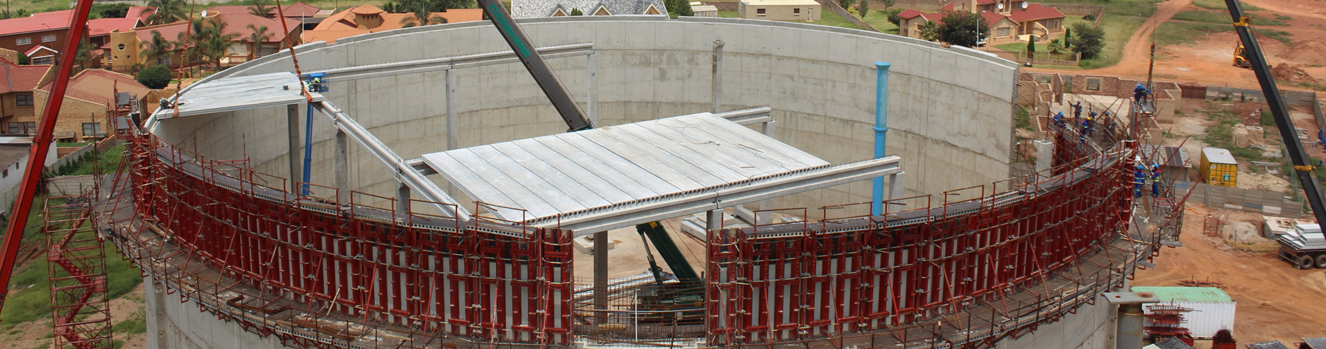 We are a leading designer, manufacturer and builder of pre-cast concrete structures