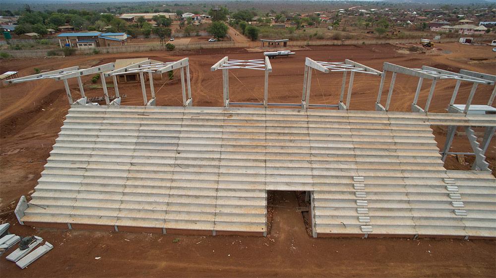 Preformed Concrete Building Construction : Precast concrete technologies complement labour based